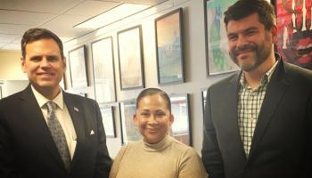 Everett FRC Meets with Malden Mayor Gary Christenson