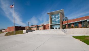 Exterior of a school