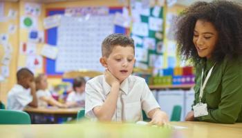Student and helper teacher